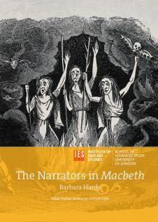 Cover for The Narrators in Macbeth: Hilda Hulme Lecture Series