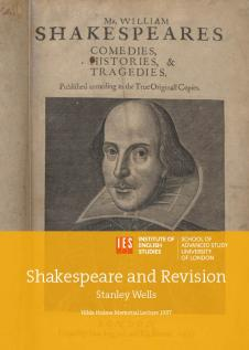 Cover for Shakespeare and Revision