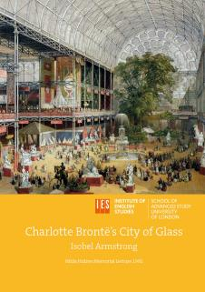 Cover for Charlotte Brontë's City of Glass