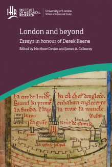 Cover for  London and Beyond: Essays in honour of Derek Keene