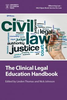 Cover for The Clinical Legal Education Handbook