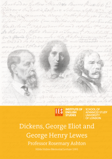 Cover for Dickens, George Eliot and George Henry Lewes
