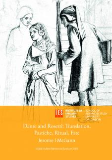 Cover for Dante and Rossetti: Translation, Pastiche, Ritual, Fate