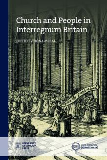 Cover for Church and People in Interregnum Britain