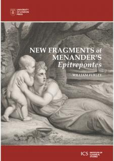 Cover for New Fragments of Menander's 'Epitrepontes'