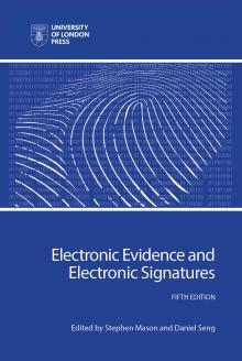 Cover for Electronic Evidence and Electronic Signatures